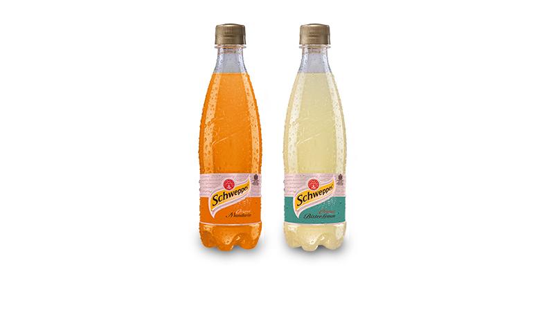 Schweppes Bitter Lemon/ Mandarin sticlă 0.5L