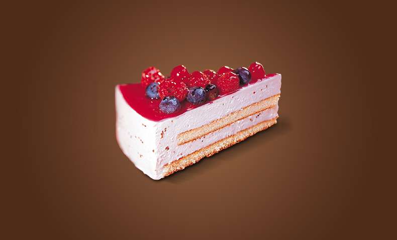Forest fruits Cake