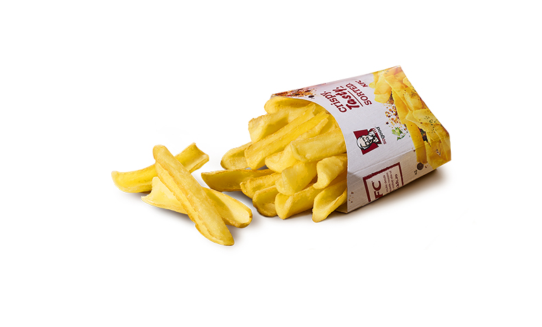 Dipping fries